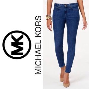 ✨{MICHAEL KORS}Med. Wash 'Selma' Skinny Jeans EUC!